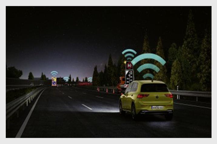 Volkswagen Car2X technológia